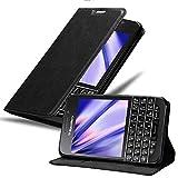 Cadorabo Coque pour Blackberry Q10 en Noir Nuit - Housse Protection avec...