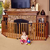 Framework Baby Playpen Foldable Wooden Frame Kids Play Center Yard Indoor&Outdoor 8 Panel