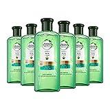 Herbal Essences Pure : Shampoing Réparateur et Lissant, sans sulfate, Pack de 6...