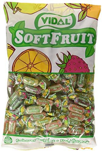 Vidal Soft Fruit Azúcar Golosina - 1000 gr