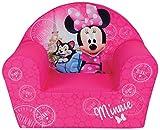FUN HOUSE 712810 Disney Minnie Paris Fauteuil en Mousse pour Enfant 52 x 33...