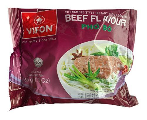 VIFON ベトナム インスタントフォー 牛肉風味 60g 10袋入り VIFON Pho Bo 60g 10 goi