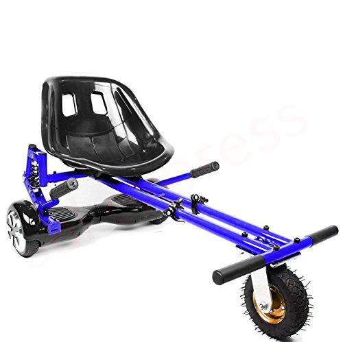 Enyaa, hoverkart regolabile, modello 2018, accessorio per trasformare gli hoverboard con ruote da 16,5/20,3/25,4 cm in go-kart elettrici, sicuro per adulti e bambini, blue