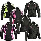 Manteau imperméable de veste de moto de Cordura de moto de moto de textile de femmes pour des dames...