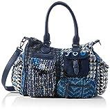 Desigual Accessories Fabric Shoulder Bag, Bolso bandolera. para Mujer, azul, U