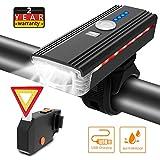 ITSHINY Lumière de Vélo USB Rechargeable - d'éclairage de...