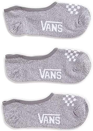 Vans, calzini bassi da donne e ragazze, Bambina, Grey / White Check, Girls Shoe Size 1-6