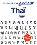 Cahier Écriture Thai