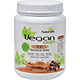Vegan Smart Plant Based Vegan Blend Naturally Flavored & Sweetened Non GMO Project Verified (Vegan Smart All-in-One Chocolate, 22.75oz)