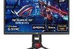 "ASUS ROG STRIX XG248Q 24"" (23.8"") FHD (1920 x 1080) eSport Gaming Monitor, 1 ms, 240 Hz, DP, HDMI, USB 3.0, AuraSync, FreeSync, Compatibile G-Sync"