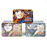 Naruto Guardian of the Village TCG Collector Tin Set - 3 Tins - With Rare Cards