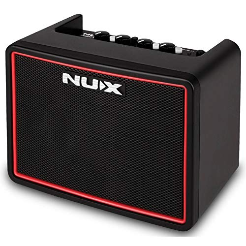 NUX | Mighty Lite Portable Guitar Amplifier | Drum Loops, Effects, Bluetooth, Battery or Mains Operation