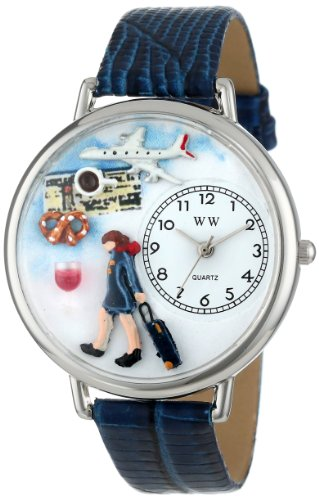 Whimsical Watches Unisex U0610007 Flight Attendant Royal...