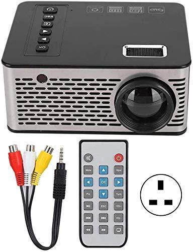 ZLSANVD Mini proiettore Mini proiettore Portatile proiettore 1920X1080 600 Lumen Home Cinema Teatro...