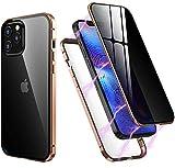 """iPhone 12/12 Pro 6.1"""" ケース 両面強化ガラス 覗き見防止 iPhone12 iPhone12 Pro ガラス……"""