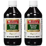 Molina Vanilla-Mexican Vanilla (120 ml (2 Pack))