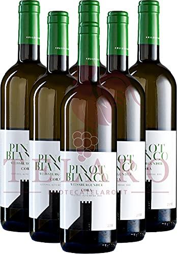 Pinot Bianco DOC Colterenzio 2019 Promo Vino Bianco Trentino Offerta 6 Bottiglie