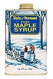 Ferguson Farms 100% Pure Vermont Maple Syrup, (formally Grade B), Vermont Tin 1 Quart 4 fl. oz. (36oz)