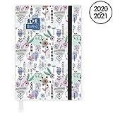 OXFORD Agenda Scolaire Flowers 2020 - 2021 Format 12x18cm Journalier 352 Pages...