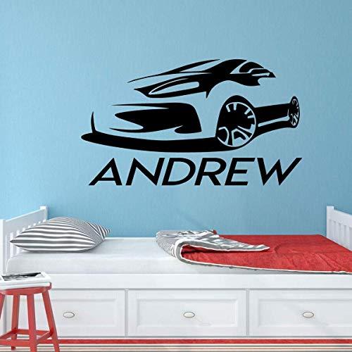Graz Design - Adesivo da parete, per camera da letto o camera da letto, motivo carrozzina sportiva...