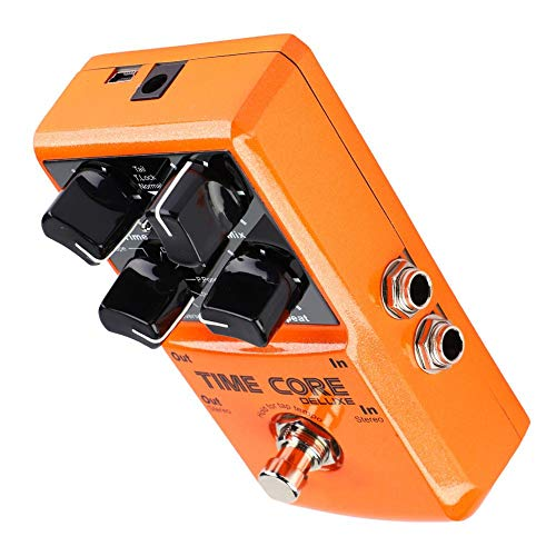 Alomejor Multi Effects Heavy Metal Distortion Boost Chorus Delay Guitar Pedal for Electric Guitar