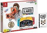 Nintendo switch - Head set acce 1X cartouche de jeu Logiciel et tous les composants nécessaires à la fabrication des lunettes et du blaster toy-con vr