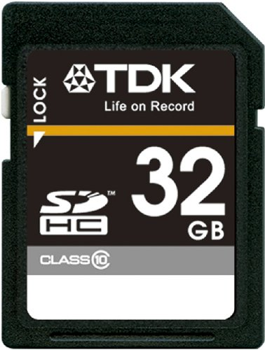【Amazon.co.jp限定】TDK SDHCカード 32GB Class10 (5年保証) フラストレーションフリーパッケージ (FFP) T-SDHC32GB10-FFP