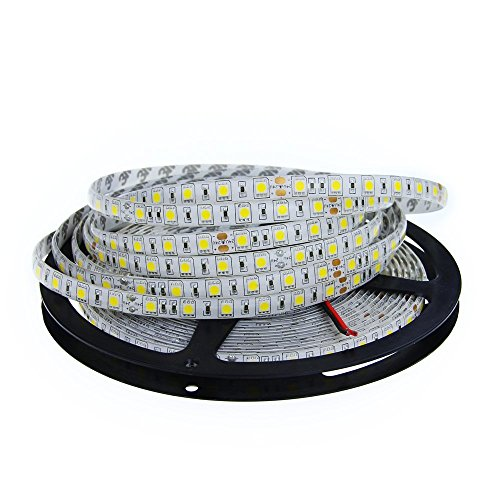 ALITOVE DC 24V 32.8ft 5050 SMD LED Flexible Strip Light Warm white...