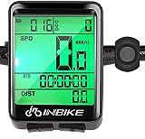Hospaop Compteur Velo Sans Fils, IP66 étanche tachymètre de vélo, 23...