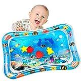 Yosemy Tapis d'eau Gonflable pour Bébé Tapis de Jeu Gonflé Coussin Gonflable de Rempli d'eau Amusement d'activité d'enfant Aider Développer les Compétences Cognitives