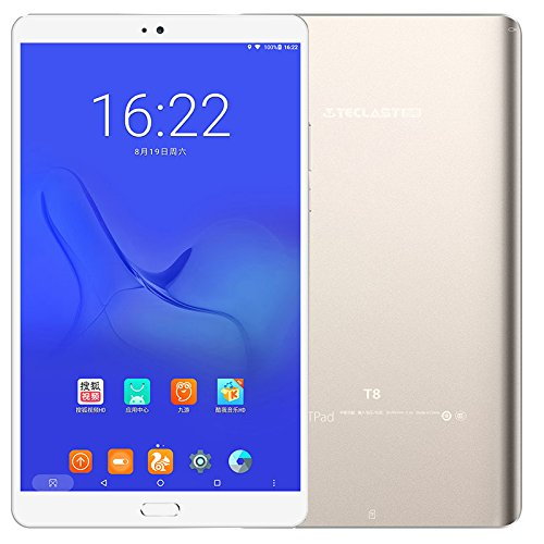 Teclast T8 Android 7.0 Tablet PC 8.4 Inch 25601600 IPS Screen MT8176 Hexa Core WiFi BT Camera 4GB RAM 64GB ROM