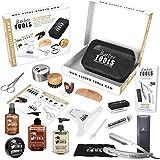 Kit/Set/Coffret d'entretien et de soin pour barbe et rasage. Avec Soin de barbier | Cosmetique Made in France ✮ BARBER TOOLS ✮