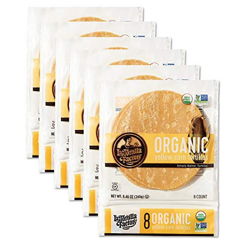 La Tortilla Factory Organic Yellow Corn Tortillas