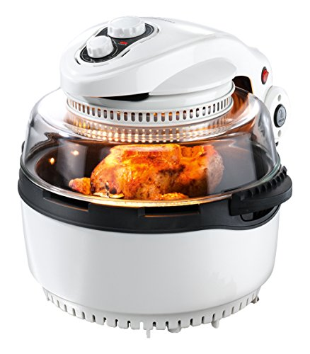 gourmetmaxx00974Forno a convezione/alogeno, XXL, con cestello per friggere e girarrosto | 1400W |...