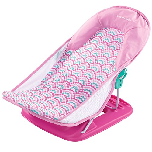 Summer Infant Deluxe Baby Bather, Bubble Waves