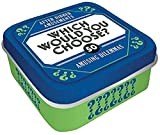 After Dinner Amusements: Which Would You Choose?: 50 Amusing Dilemmas (Dinner Party Conversation Card Game for Adults and Family, Gift for Host or Hostess)