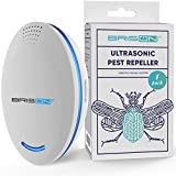 BRISON Ultrasonic Pest Repeller Plug-in Control Electronic Insect Repellent Gets Rid Mosquito Bed Bugs Roach Spiders Fleas Mice Ants Fruit Fly