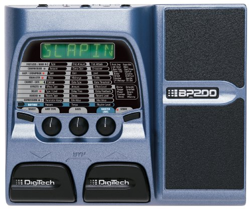 DigiTech BP200 Bass Multi-Effects Processor with Expression Pedal