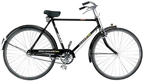 Atlas Goldline Super Men's 28.00 Inch Wheel Stelel Frame Multi-Use Bike Road Cycle For Men (Multicolour)