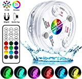 LOFTEK Lampe Piscine LED Lumières LED Submersibles IP68 Étanche 16 RGB...