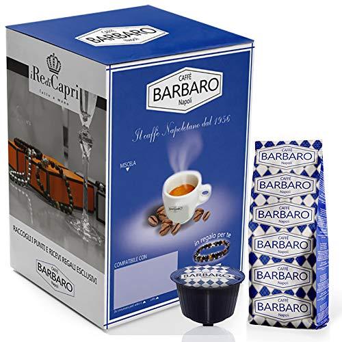Barbaro Caffe' Dolce Gusto Cremoso Napoli Miscela Blu - 100 Capsule