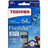 FlashAir 32GB 東芝 TOSHIBA Wi-Fi SDHCカード 日本製 (32GB) [並行輸入品]
