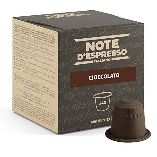 Note d'Espresso - Chocolate - Cápsulas compatibles con Cafeteras NESPRESSO - 40 caps