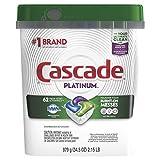 Cascade Platinum Dishwasher Pods,...