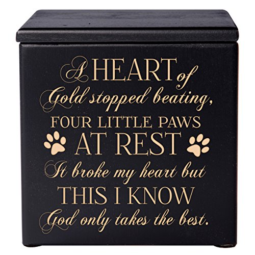 LifeSong Milestones Cremation Urns for Pets Small...
