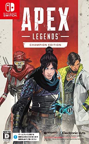 エーペックスレジェンズ チャンピオンエディション【Amazon.co.jp限定】Apex Legends 缶バッジ 付 - Switch