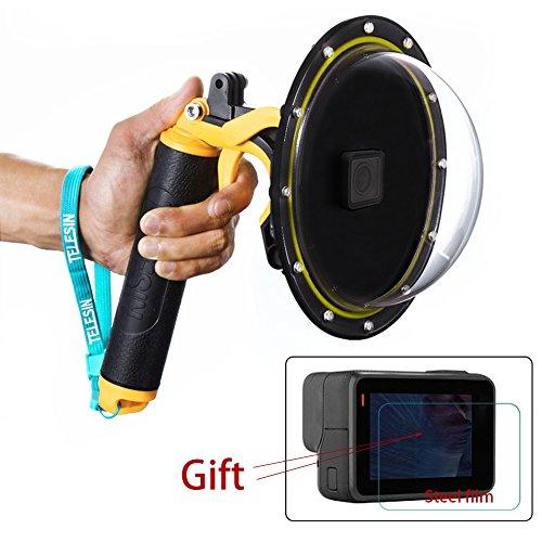 Custodia impermeabile portatile per lenti GoPro Dome, con pistola a grilletto per GoPro Hero 5/6e set di accessori (cupola + set attivazione)