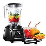 Professional Countertop Blender, AICOOK 1800W Smoothie Maker Blender for Kitchen 11-Speed Control Food Processor Blender for Shakes, Smoothies and Frozen Fruit with 60oz BPA-Free Pitcher