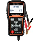 FOXWELL BT705 12V 24V Car Battery Tester Automotive 100-2000 CCA Battery Load Tester Auto Cranking and Charging System Test Scan Tool Digital Battery Analyzer for Vehicle and Heavy Duty Truck