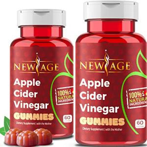 Apple Cider Vinegar Gummies by New Age - 2-Pack - 120 Count -Immunity & Detox - with The Mother, Gluten-Free, Vegan… 13 - My Weight Loss Today